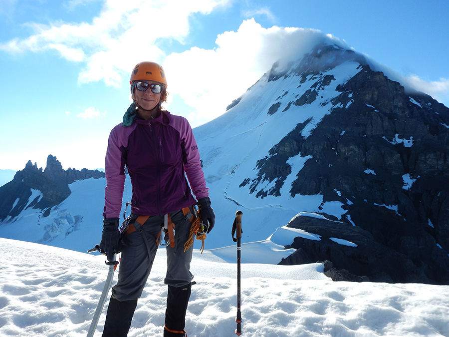 Gen on the Columbia Icefield