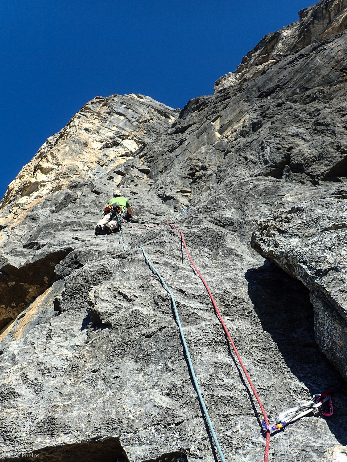 Ian Greant on the 3rd pitch of The Wraith