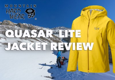 Mountain Hardwear Quasar Lite Jacket Review