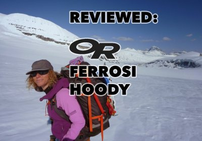 Review of the Outdoor Research Ferrosi Hoody