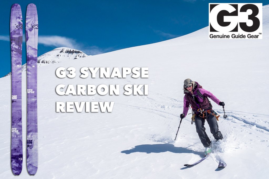 Mountain Moxie reviews the G3 Synapse Carbon ski