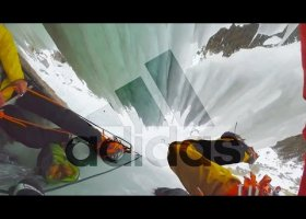 Guido Unterwurzacher ice climbing - part 1| Canadian Rockies | adidas Outdoor