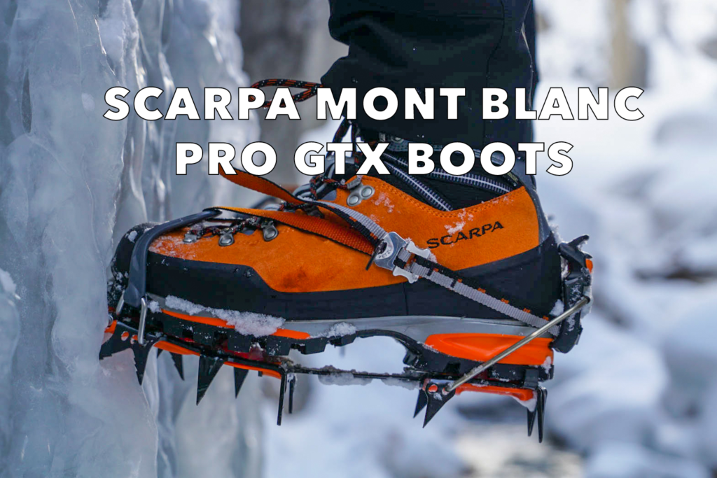 Scarpa Mont Blanc Pro GTX Boot review